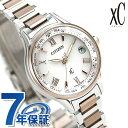 シチズン クロスシー エコドライブ電波時計 チタン レディース 腕時計 サクラピンク(R) EC1165-51W CITIZEN xC