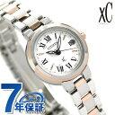 シチズン クロスシー ハッピーフライト 電波ソーラー ES9004-52A CITIZEN xC 腕時計 ホワイト