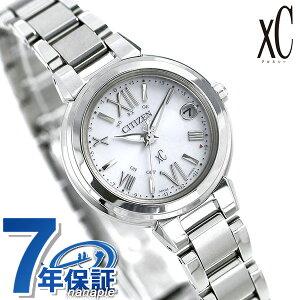 シチズン クロスシー CITIZEN xC エコドライブ 電波時計 レディース 腕時計 ES9430-54A 電波ソーラー シルバー【あす楽対応】