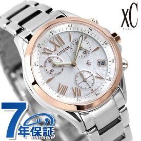シチズン クロスシー CITIZEN xC エコドライブ 時計 クロノグラフ レディース 腕時計 FB1404-51A【あす楽対応】
