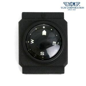 【今ならポイント最大28倍】 コンパス 方位磁石 20気圧 日本製 腕時計用 リストコンパス 長角型 ダイバーコンパス YCM 90