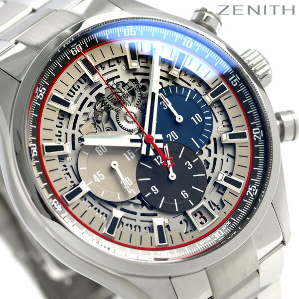 ゼニス ZENITH エルプリメロ 36000VPH ライトウェイト 45mm 03.2522.400/69.M2280 腕時計 スケルトン 時計【あす楽対応】