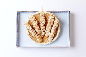 国産 焼き鳥 串焼き 生鶏肉国産鶏皮40g 5本入り×2パック 10本