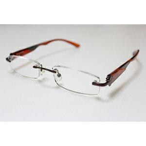 【エール】シニアグラス 老眼鏡 ふちなしタイプ【AF104 1.0度】