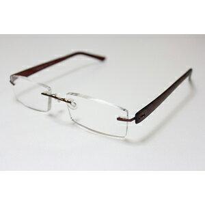 【エール】シニアグラス 老眼鏡 ふちなしタイプ【AF105 3.0度】