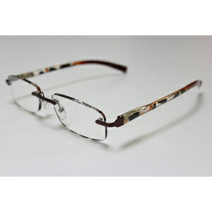 【エール】シニアグラス 老眼鏡 ふちなしタイプ【AF106 1.0度】