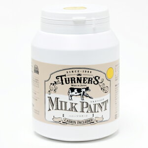 【ターナー】水性塗料 ミルクペイント【450ml ハニーマスタード】