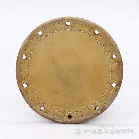 附締太鼓 二丁掛革 牛革 外径約35,5cm