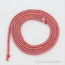 神輿用鈴紐 紅白 太さ4mmX長さ70cmX16本 江戸打 人絹製