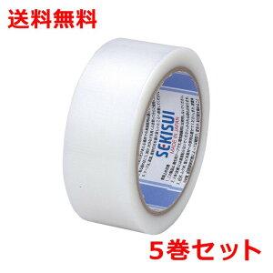 積水 マスクライト養生テープNo.730 5巻 幅38mm×長さ25m 半透明 マスキングテープ N730N03 送料無料