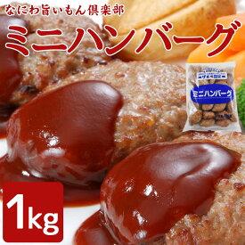 冷凍ミニハンバーグ 1kg(約33個)