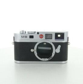 【中古】 (ライカ) Leica M8 シルバー【中古カメラ デジタル一眼】 ランク:AB