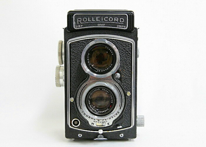 【中古】【B】 (ローライ) Rollei ROLLEICORD 型 クセナー75/3.5【中古カメラ 中判カメラ】 ランク:B