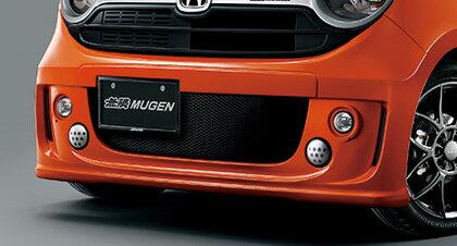 【割引クーポン配布中】無限/MUGEN フロントエアロバンパー&LEDフォグライトセット 未塗装 N-ONE/JG1、JG2 商品番号:62511-XMG-K1SO-ZZ