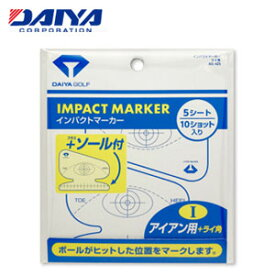 【即納】 ダイヤ インパクトマーカー AS-425 ≪アイアン用+ライ角≫