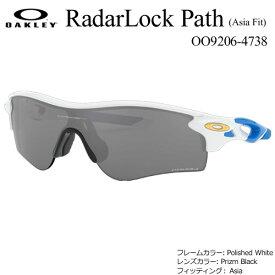 Oakley RadarLock Path (Asia Fit) OO9206-4738 オークリー レーダーロックパス サングラス フレームカラー: Polished White レンズカラー: Prizm Black フィッティング: Asia (日本正規品)
