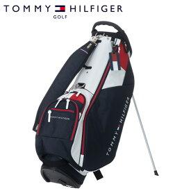 トミー ヒルフィガー ゴルフ キャディバッグ シグネチャー スタンド THMG0SCA 9型 約2.8kg TOMMY HILFIGER GOLF