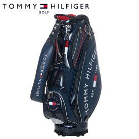 トミー ヒルフィガー ゴルフ カートキャディバッグ ラウンドロゴ THMG1SC3 9型 約4.2kg TOMMY HILFIGER GOLF