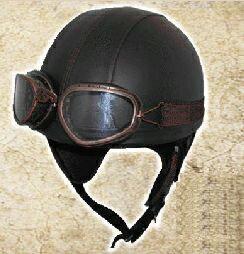 【TNK工業・SPEEDPIT】RD-98 LEATHER VINTAGE HALF HELMET レザーヴィンテージハーフヘルメット