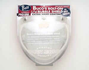 【Buco・ブコ】BUCO シールド ボルトオン バブルシールド WITH シールドコンバーター