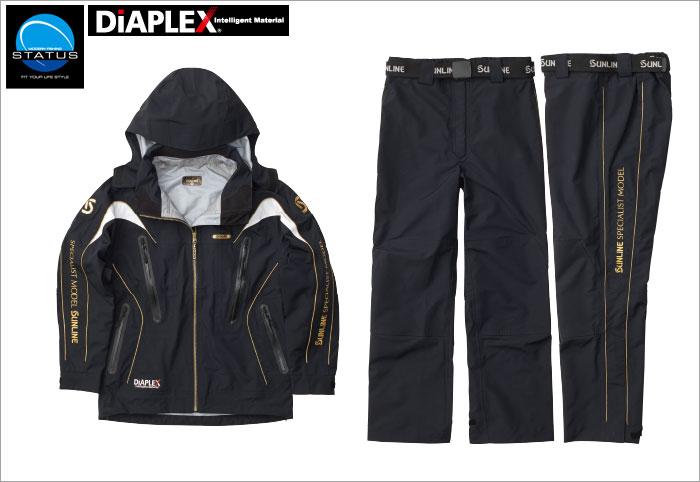 サンライン ステータス・ディアプレックスオールウェザースーツ STW-1509 3L【ラッキーシール対応】