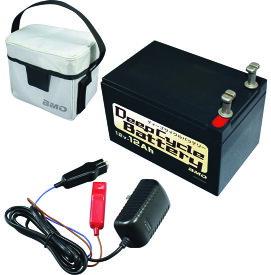 BMO ディープサイクルバッテリー12V12Ah チャージ、バッグセット 10Z0010