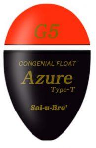 ソルブレ 【Sal-u-Bre】 Azure アズール Type-T オレンジ L φ23.0×37.3mm【ラッキーシール対応】