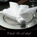 チェックボイルチーフ(テーブルナプキン 55cm×55cm ポリエステル製 おしゃれ 結婚式 パーティー スケルトン チェッ…