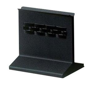メニューブックスタンド 大 黒 サイズ:W120×D75×H105mm ミゾ幅:15mm ※お取寄商品