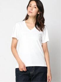 [Rakuten Fashion]【SALE/40%OFF】AntiSoakedVネックTシャツ nano・universe Selected ナノユニバース カットソー Tシャツ ホワイト ベージュ グレー ブラック【RBA_E】