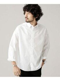 [Rakuten Fashion]【SALE/40%OFF】大人のワイドシャツレギュラーカラー nano・universe ナノユニバース シャツ/ブラウス シャツ/ブラウスその他 ホワイト ブラウン【RBA_E】【送料無料】