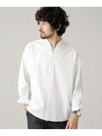 [Rakuten Fashion]【SALE/10%OFF】大人のワイドシャツバンドカラー nano・universe ナノユニバース シャツ/ブラウス シャツ/ブラウスその他 ホワイト【RBA_E】【送料無料】