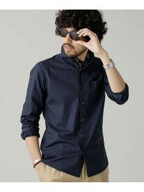 [Rakuten Fashion]【SALE/10%OFF】チーフセットカッタウェイシャツ nano・universe ナノユニバース シャツ/ブラウス シャツ/ブラウスその他 ネイビー カーキ ホワイト【RBA_E】【送料無料】