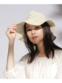 [Rakuten Fashion]【SALE/50%OFF】LETTER 折り畳み中折れハット La Maison de Lyllis ナノユニバース 帽子/ヘア小物 ハット ベージュ ブラウン【RBA_E】【送料無料】