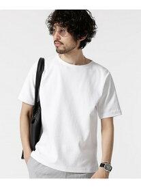 [Rakuten Fashion]【SALE/50%OFF】ガーターボートネックTシャツ nano・universe ナノユニバース カットソー カットソーその他 ホワイト レッド ネイビー グリーン【RBA_E】