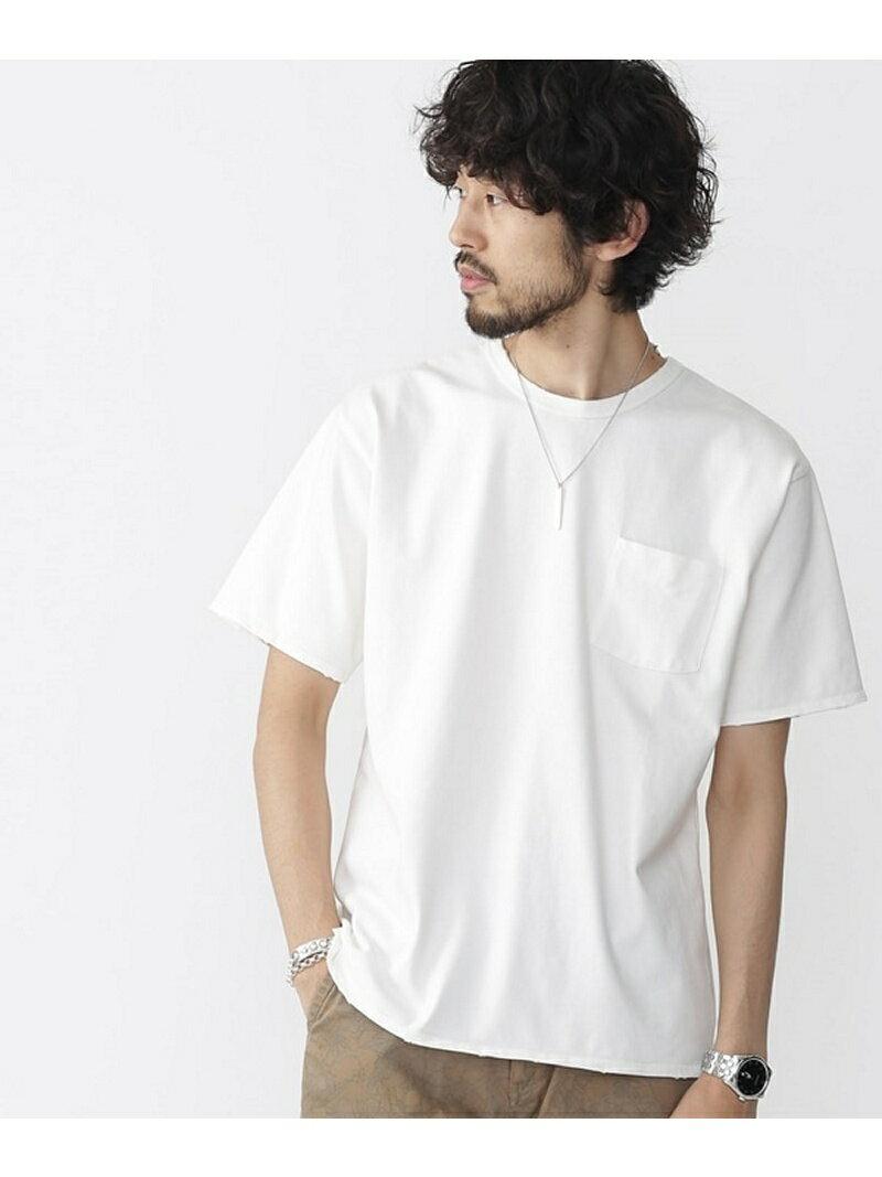 【SALE/50%OFF】nano・universe //ナノフォルテピグメントBIG Tシャツ ナノユニバース カットソー【RBA_S】【RBA_E】