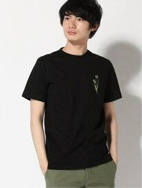 [Rakuten Fashion]【SALE/60%OFF】:ATTACHMENTTシャツSS nano・universe Selected ナノユニバース カットソー Tシャツ ブラック ホワイト【RBA_E】