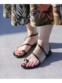 [Rakuten Fashion]【SALE/35%OFF】63-T NICOLAS LAINAS ナノユニバース シューズ サンダル/ミュール ブラック ゴールド【RBA_E】【送料無料】