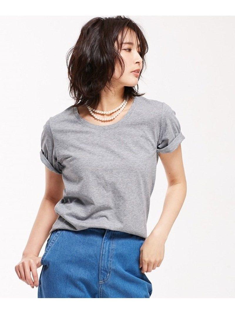 [Rakuten BRAND AVENUE]【SALE/10%OFF】Anti Soaked 30/-クルーネックTシャツ nano・universe ナノユニバース カットソー【RBA_S】【RBA_E】