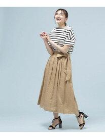 [Rakuten Fashion]【SALE/60%OFF】フレンチリネンギャザースカート nano・universe ナノユニバース スカート スカートその他 ベージュ ピンク ネイビー グリーン【RBA_E】