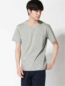 【SALE/60%OFF】:AntiSoakedクルーネックTシャツ nano・universe ナノユニバース カットソー Tシャツ グレー オレンジ ホワイト【RBA_E】[Rakuten Fashion]