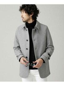 [Rakuten Fashion]SUPER140'SメルトンシングルPコート nano・universe ナノユニバース コート/ジャケット ピーコート グレー ブラウン ネイビー【送料無料】