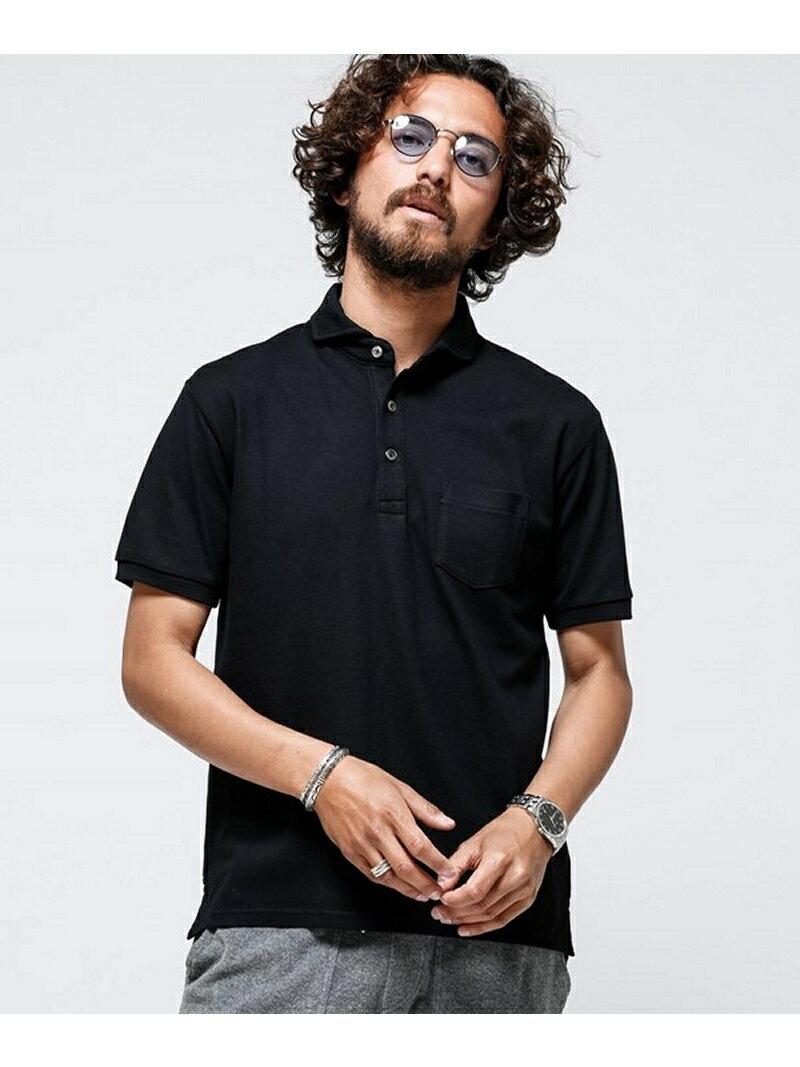 [Rakuten BRAND AVENUE]【SALE/20%OFF】Anti Soaked POLOシャツ ナノユニバース カットソー【RBA_S】【RBA_E】【送料無料】