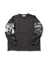 WEYEP(c) SONIC YOUTH ROCKTEE 1 WEYEP ナノユニバース カットソー Tシャツ ブラック ホワイト【送料無料】[Rakuten Fashion]