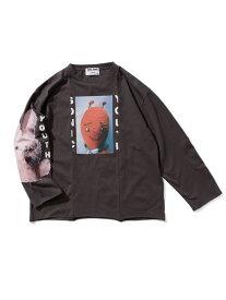 WEYEP(c) SONIC YOUTH ROCKTEE 2 WEYEP ナノユニバース カットソー Tシャツ ブラック ホワイト【送料無料】[Rakuten Fashion]