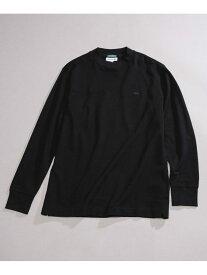 [Rakuten Fashion]別注モックネックTシャツロングスリーブ LACOSTE ナノユニバース カットソー Tシャツ ブラック ネイビー ホワイト【送料無料】