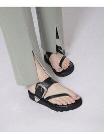 [Rakuten Fashion]【SALE/35%OFF】DIAGONAL STRAP SANDALS CAMINANDO ナノユニバース シューズ サンダル/ミュール ブラック ベージュ【RBA_E】【送料無料】