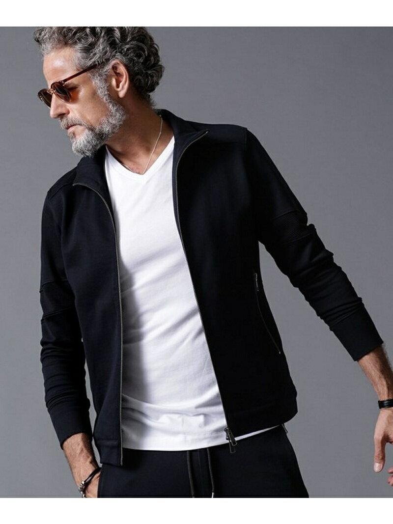 [Rakuten BRAND AVENUE]WLG jerseyトラックジャケット Will Lounge ナノユニバース コート/ジャケット【RBA_S】【送料無料】