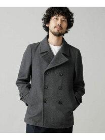 [Rakuten Fashion]【SALE/10%OFF】【WEB限定】メルトンピーコート nano・universe ナノユニバース コート/ジャケット ピーコート グレー ネイビー ブラック【RBA_E】【送料無料】