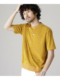 [Rakuten Fashion]【SALE/30%OFF】カラーリングクルーネックTシャツ nano・universe ナノユニバース カットソー Tシャツ イエロー ネイビー グリーン【RBA_E】